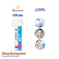 Combo 4 gói bông tẩy trang Jomi 120 miếng - Làm sạch da mặt