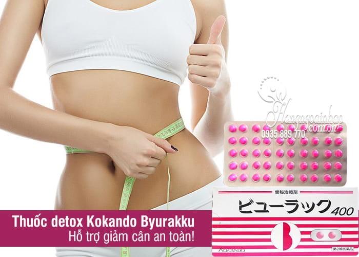 Viên Uống Nhuận Tràng Kokando Byurakku Của Nhật - Giảm Mỡ Bụng, Giảm Táo Bón - Detox Nhật thumbnail