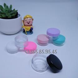 Hũ nhựa 10g_ nguyên liệu làm mỹ phẩm handmade