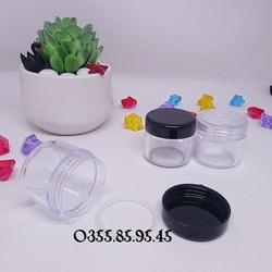 Hũ nhựa tròn 30gr_Dụng cụ làm mỹ phẩm handmade