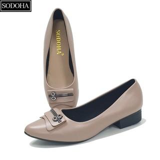 Giày nữ , giày sandal đế bệt, giày búp bê nữ - giày nữ thời trang SODOHA - SDH- 2216 thumbnail