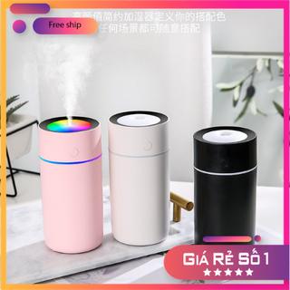 Máy phun sương khuếch tán tinh dầu siêu âm lux 2.2 kết hợp đèn led RGB trang trí phòng ngủ và bàn làm việc MẪU MỚI NHẤT - ps115 thumbnail