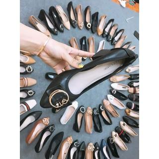 combo 4 đôi giày cao gót. dép lê các loại - xatrian4 doi 8