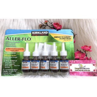 Xịt mũi dị ứng Kirkland Aller- Flo - 9825305370 thumbnail