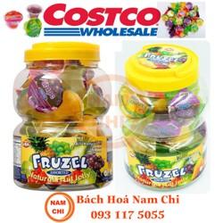 Rau Câu Trái Cây Tự Nhiên Fruzel Jelly Fruits 1.45kg - Hàng Chính Hãng Mỹ USA - 817815008288