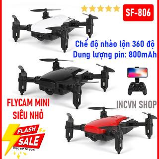 Máy bay flycam điều khiển từ xa có camera SF806 - Máy bay chụp ảnh quay phim HD - flycam mini rẻ sf806 thumbnail