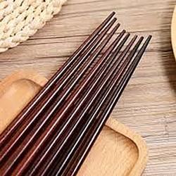 Đũa gỗ cẩm đô cao cấp loại (1 bó 10 đôi),đũa gỗ siêu đẹp làm từ gỗ tự nhiên không dùng các loại sơn độc hại