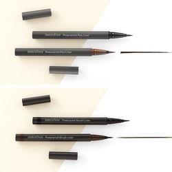 Bút kẻ mắt siêu mảnh không trôi Innisfree Powerproof Brush Liner