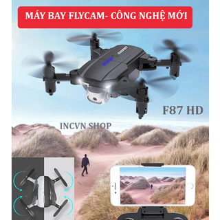 Flycam mini giá rẻ F87, máy bay điều khiển từ xa có camera 720p - FLYCAM FF87 thumbnail