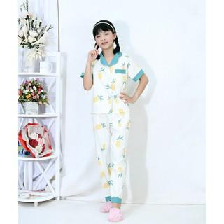 Đồ ngủ, bộ mặc nhà pizama cho bé TRAI và bé GÁI quần dài tay ngắn vải LỤA cao cấp 0239 - 0239 thumbnail