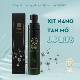 COMBO 2 CHAI Xit Tan mỡ CẤP TỐC Nano JPlus xịt- XỊT CHỖ NÀO TAN MỠ CHỖ ĐÓ 100ml 1 chai - 2 chai xịt JPlus thumbnail