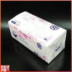giấy ăn lụa rút cao cấp loại 3 lớp 300 tờ