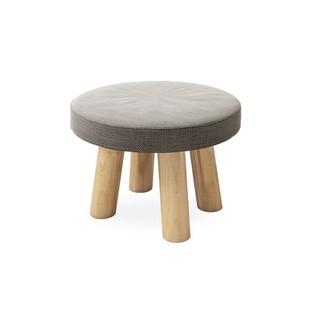 Ghế đẩu nhỏ có đệm tròn, Ghế đẩu trẻ em, Ghế đẩu cỡ nhỏ xinh xắn cho phòng khách - 0690 thumbnail