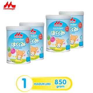 Combo 4 hộp Sữa Morinaga số 1 Hagukumi 850g mới thêm nhiều dưỡng chất - combo4-hagukumi-850 thumbnail