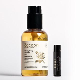 Combo Dầu tẩy trang hoa hồng cocoon 140ml + Son dưỡng môi dầu dừa bến tre cocoon 5g - 4336723922 thumbnail