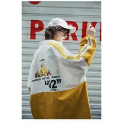 Áo khoác dù mỏng nữ