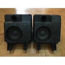 Đôi loa Mid - Bass Toshiba xịn. Đường kính 13 cm. nguyên thùng nhựa, tiếng rất tốt