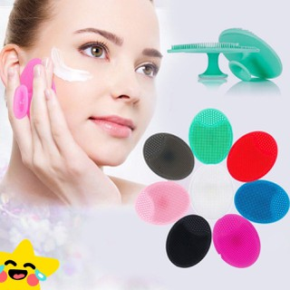 Miếng rửa mặt silicon gai hình oval - miengruamat thumbnail