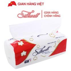 Khăn giấy đa năng Silkwell cao cấp 2 lớp gói 100 tờ