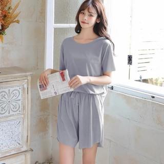 Bộ ngủ mặc ở nhà chất lụa băng mát mịn xịn thơm hàng Quảng Châu cao cấp - 8154042041 thumbnail