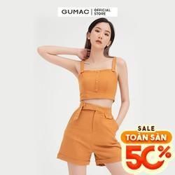 Quần short nữ paghet có túi GUMAC QB416