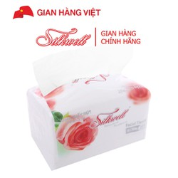 Khăn giấy Silkwell cao cấp 2 lớp gói 260 tờ