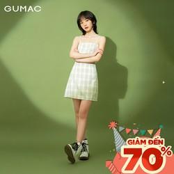 Chân váy nữ caro GUMAC VB114