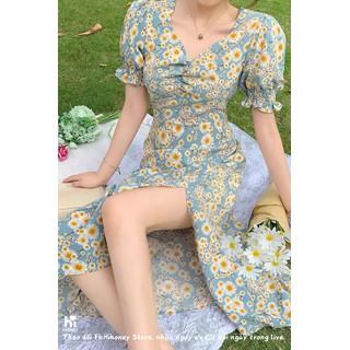 Váy nữ, đầm nữ, váy hoa nhí, váy hè thiết kế cho nàng thêm thanh lịch và nữ tính - SP 27 thumbnail
