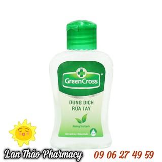Nước Rữa Tay Khô GREEN CROSS 100ml Hương Trà Xanh - CCT01-014 thumbnail