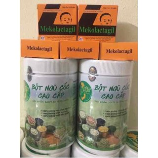 Combo lợi sữa cao cấp 2 ngũ cốc + 5 tảo - loisua1 thumbnail