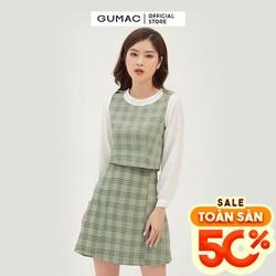 Chân váy nữ form A cơ bản GUMAC VB360
