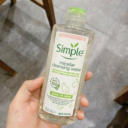 Auth - Nước tẩy trang Simple Kind to Skin Micellar Cleansing Water