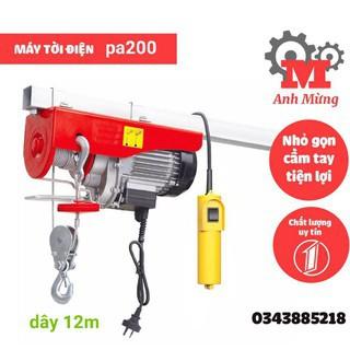 tời điện pa200 dây 12m nâng hạ linh hoạt - 3036297746 thumbnail