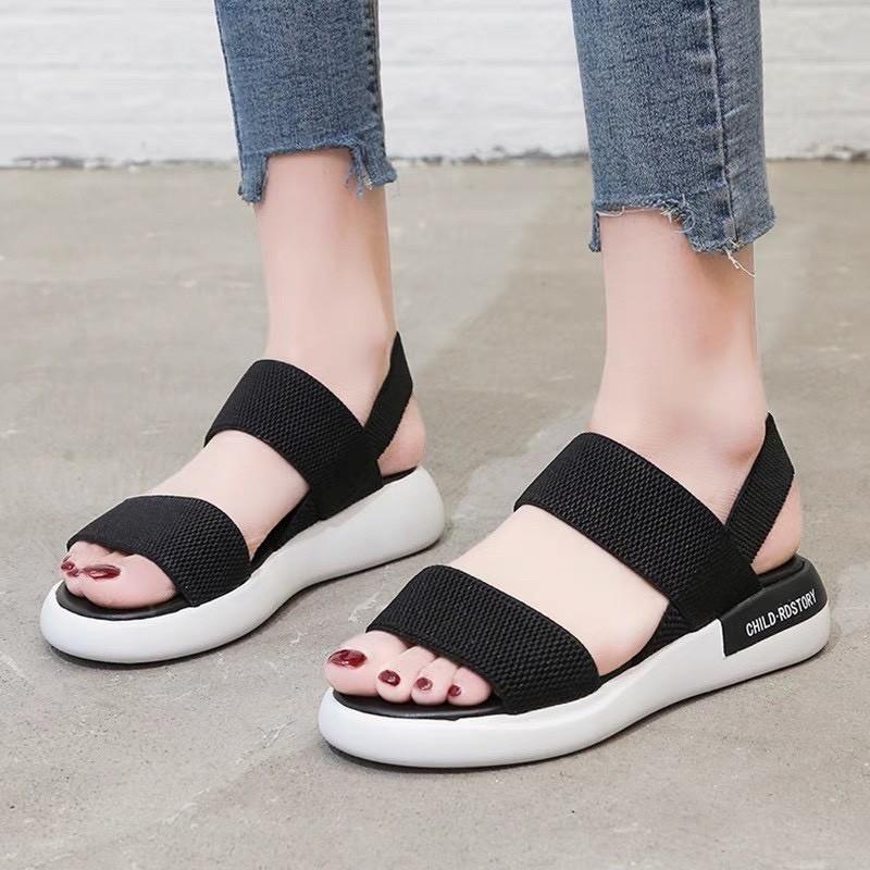 Giày Sandal Nữ Đẹp Học Sinh Mẫu Mới Phong Cách Hàn Quốc - SD-QC1 3