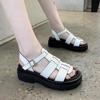 Giày Sandal Nữ Học Sinh, Dép Nữ Đế Cao Thời Trang Cao Cấp Đi Chơi, Đi Học - GSD03-DT thumbnail
