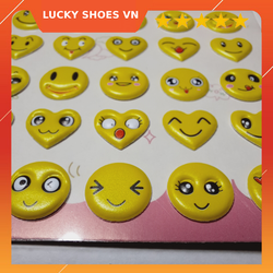 sticker dán 3d mặt cười smile cực đáng yêu dùng làm đồ chơi cho bé, sticker dán điện thoai, dán laptop trang trí bất kỳ đồ vật