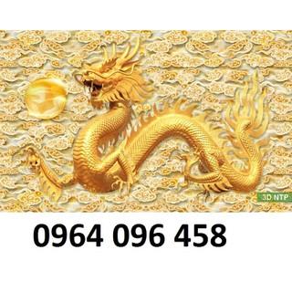tranh rồng - tranh gạch 3d rồng phong thủy- QHB6 [ĐƯỢC KIỂM HÀNG] 43781692 - 43781692 thumbnail