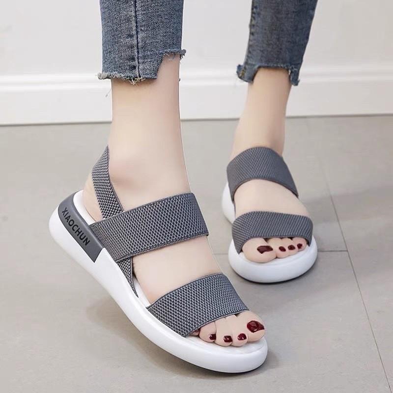 Giày Sandal Nữ Đẹp Học Sinh Mẫu Mới Phong Cách Hàn Quốc - SD-QC1 1