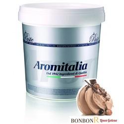 Hương vị làm kem Hạt dẻ 3.5kg, nguyên liệu làm kem Aromitalia - Vua kem