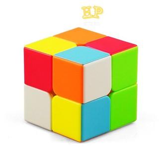RUBIK 2x2 cao cấp Robik 2x2 MAGIC CUBE - Rubic 2 Tầng nâng cao khả năng tư duy - RB2x2 thumbnail