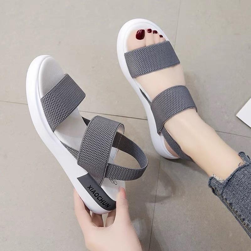 Giày Sandal Nữ Đẹp Học Sinh Mẫu Mới Phong Cách Hàn Quốc - SD-QC1 4