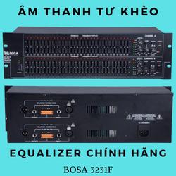 ( TẶNG KÈM DÂY CANON ) Lọc xì equalizer Bosa 3231F chính hãng 64 cần chỉnh âm thanh chuyên nghiệp, tăng cường bass treble, hạn chế hú rít, cải thiện âm thanh cực tốt, bảo hành 12 tháng