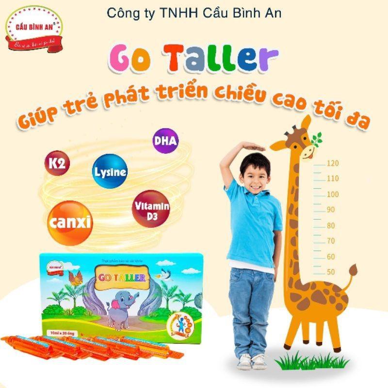 Go Taller Cầu Bình An giúp trẻ phát triển chiều cao - 444 7