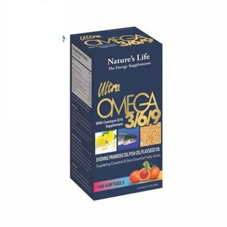 O.ME.GA 369 - Tăng cường thị lực cho mắt, giúp sáng mắt, tốt cho da, tim mạch - 1231 thumbnail
