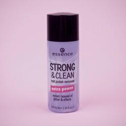 Nước Tẩy Sơn Móng Tay Essence Strong & Clean Nail Polish Remover 100ml