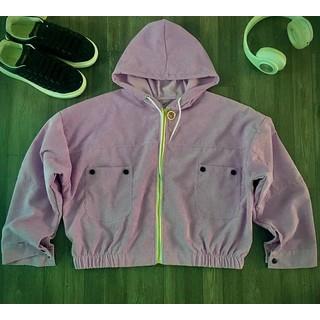 [FreeShip] [Giá hủy diệt] [Ảnh thật] Áo khoác nhung Hàn Quốc thời trang , kiểu dáng lửng mặc rất tôn dáng - NH001SG thumbnail