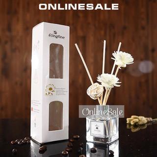 COMBO 2 LỌ Tinh dầu thơm phòng-Hoa tinh dầu tự khuếch tán- Tinh dầu que gỗ - Trang trí phòng - tinh dầu hoa trắng thumbnail