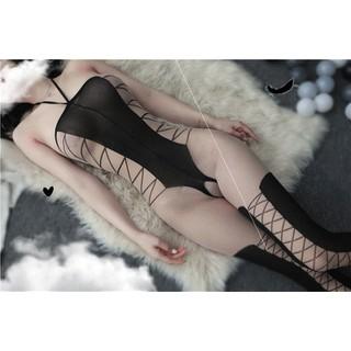 Đồ Ngủ Lưới Sexy Gợi Cảm Hoá Trang - BodyStocking - THOITRANG6178 thumbnail