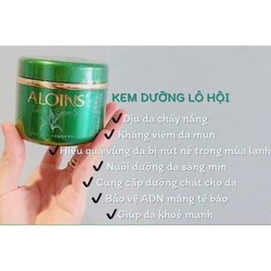 Kem Dưỡng Da, Dưỡng Ẩm Toàn Thân Lô Hội Aloins Eaude Cream Nhật Bản