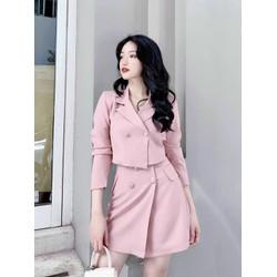 Sale: Set bộ vest chân váy - Size M